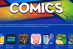 Comics Apps and Games