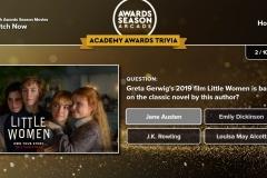 Awards - Trivia